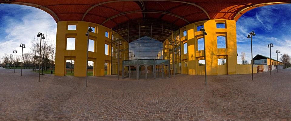 Tour virtuale auditorium paganini a parma for Architetto italiano famoso